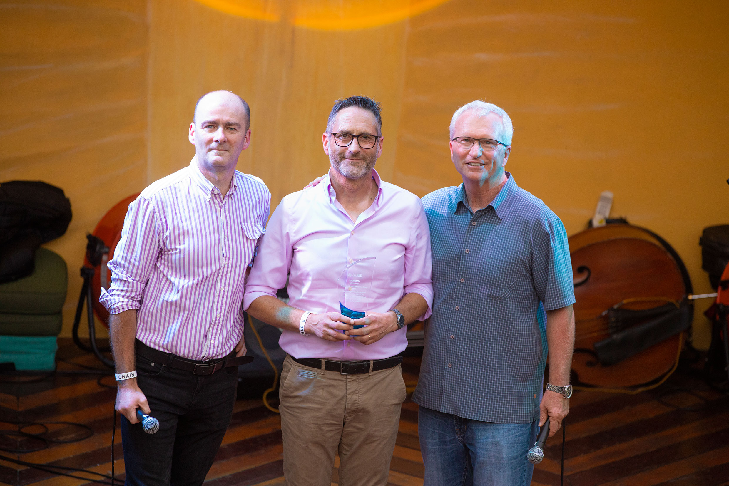 INAQUA awarded at AVISTA Global Distributor Meeting